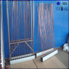 Chauffe-eau solaire de tube électronique de pipe fendue d'U