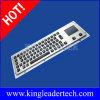 65のバックライトのキーおよびタッチパッド(MKB-64A-TP-BL)が付いている険しい金属キーボード