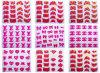 3D Velvet Nail Sticker