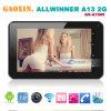 7  Allwinner安いA13 Single Core 2g SIM Calling Tabletのパソコン