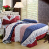 Tessile Cotton 100% Highquality Bedding Set per Home/Hotel Comforter Duvet Cover Bedding Set (banda variopinta)