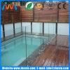 Der Großhandelszoll, der/abgehärtet wurde, milderte das Aufbau-Pool-Glas, das für Verkauf ficht