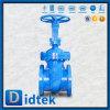 Valvola a saracinesca standard di Didtek Dn400 Pn100 Wcb GOST-12815 Russia