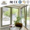 De Vervaardiging Aangepaste Deur van uitstekende kwaliteit van het Glas UPVC van de Glasvezel van de Prijs van de Fabriek Goedkope Plastic met de Binnenkant van de Grill