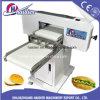 Bäckerei-Gerät in der China-Bäckereibedarf-Backen-Schneidmaschine Haidier Hamburger-Schneidmaschine/in der Scherblock-Burger-Brötchen-Schneidmaschine