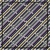 Ligne écharpe de soie de Customzied de configuration