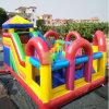 Terrain de jeux pour enfants gonflable Factroy Funcity bon marché en plein air PARC D'Attractions gonflables