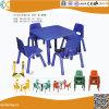 Table carrée en bois d'âge préscolaire pour les enfants