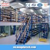 Чердак шкафа Multi-Рукоятки Shelves стальная вешалка пола Mezzaine