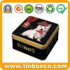 A caixa luxuosa do estanho do Fudge para doces pode Metal o empacotamento do presente
