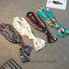 Neue Ankunft gedruckter Stutzen-Schal mit Polyester-Satin (Hz14)