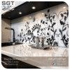 中国の浸技術の低い鉄の緩和されたデジタル印刷の台所Splashbackガラス