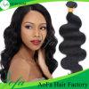natürliches Jungfrau-menschliches brasilianisches Haar-loses Wellen-Haar des Grad-7A