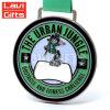 Medalha 3D feita sob encomenda barata da boa qualidade com fita verde
