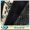 Las lanas hicieron punto la tela, tela hecha punto poliester de las lanas para el sobretodo