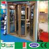 Portello di piegatura di alluminio di profilo di prezzi di fabbrica con vetro Tempered