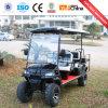 セリウムが付いている6つのシートの電気標準的なゴルフカート