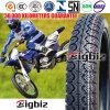 Pneumático/pneu da motocicleta da qualidade superior 80/100-14 para o mercado de Chipre