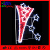 Kreatives Dreieck Stars dekoratives LED Straßenlaternedes Motiv-LED Pole