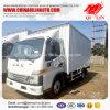1t nuttige lading 3300mm Vrachtwagen van de Doos van de Wielbasis de Droge
