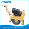 Compacteur de rouleau de tambour simple de moteur d'essence mini