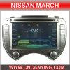 Reproductor de DVD especial de Car para Nissan marcha con GPS, Bluetooth. (CY-1915)