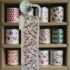 El tocador de la Navidad limpia tejidos de cuarto de baño divertidos impresos día de fiesta del papel higiénico