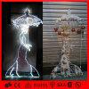중국 도매 크리스마스 천사 훈장 LED 주제 빛