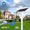 15-80W Long Lifetime Integrated Solar Street Light com sensor de movimento