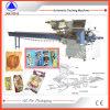 Empaquetadora automática del flujo del polo de hielo de la galleta de la torta del pan Swsf-450