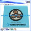 Câble d'alimentation Multi-Cores de PVC Sheathed Steel Tape Armored de 12/20kv XLPE Insulated