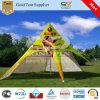 Schioccare in su video la tenda della stella con il marchio brillante su ordinazione stampato