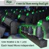移動ヘッド段階ライト4頭部小型LEDのビーム移動ヘッド棒(Huyn-860)