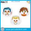 Intéressant DIY Food Porcelaine Children Face Plate