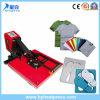 Appuyez sur la touche de chaleur à haute pression de la machine pour T-Shirt impression sublimation de la machine de transfert de chaleur