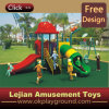 CE Fun Approuvé Jouez enfants Activités de plein air en plastique Aire de jeux pour Park (X1220-6)