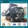Camion de dumper de Sinotruk HOWO-A7 371HP 6X4 10-Wheel 20m3