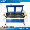 ファブリック自動挿入レーザーの切断および彫版機械1600X1000mm二重ヘッド