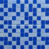Dibujo a mano alzada mosaico de vidrio azul de la moda baño Azulejos Azulejos de cocina