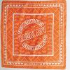Foulard de coupe du monde de Headscarf/de danse de Hiphop avec le logo personnalisé