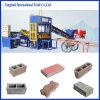 Vente semi-automatique de machine de fabrication de brique Qt4-15 au Nigéria