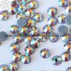 2018 самый новый и горячий продавая камень Preciosa экземпляра Rhinestone Fix стеклянной бусины Ab Topaz горячий (TP-Topaz AB)