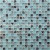 Hielo azul crepitar Mosaico de vidrio para la piscina o el baño diseño