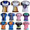 T-shirt serré de sport comprimé chaud de vente d'OEM