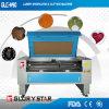 Única estaca de trabalho de madeira principal do laser e máquina de gravura