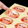 도매 안전 접착성 라벨 스티커 공급자 Dongguan