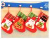 Bas s'arrêtant de Noël de Senta Claus pour la décoration