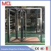 Het hitte Geïsoleerde Glas Lowe die van de Deur van het Aluminium Verglaasde Dubbel de Stijl van de Deur vouwen