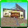 De OpenluchtWeg Unipole die van Yeroo Backlit Vertoning van het Aanplakbord adverteren