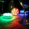 Afstandsbediening 10 de Kleurrijke kleur-Veranderende Lichte Verspreider Met duikvermogen van de Nacht van de Fles van de Wijn van de Staaf van de Partij van de Waterpijp Lichte